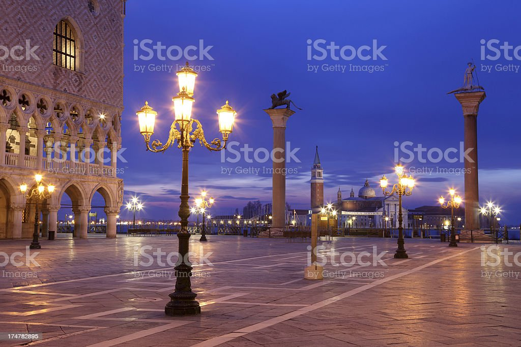 Piazza San Marco in Venice, Italy royalty-free stock photo