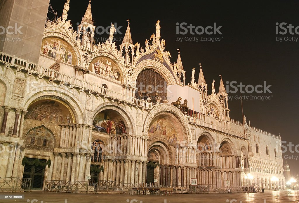 piazza san marco royalty-free stock photo