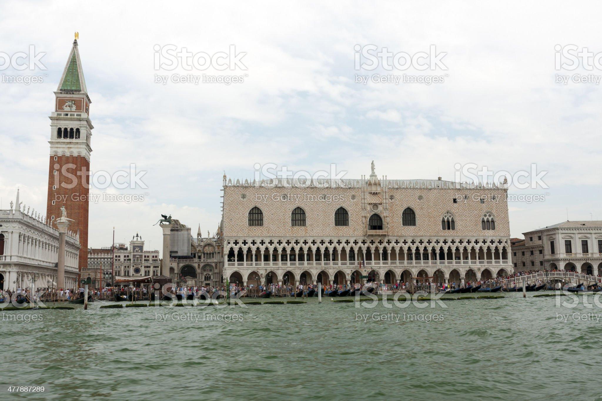 Piazza San Marco royalty-free stock photo