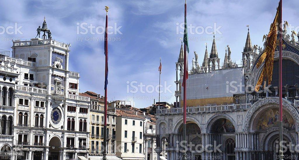 Piazza San Marco, Venice, Italy royalty-free stock photo