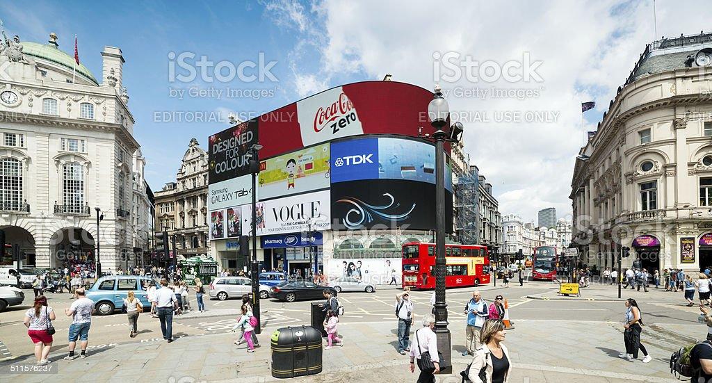 Picadilly Cirus, London stock photo