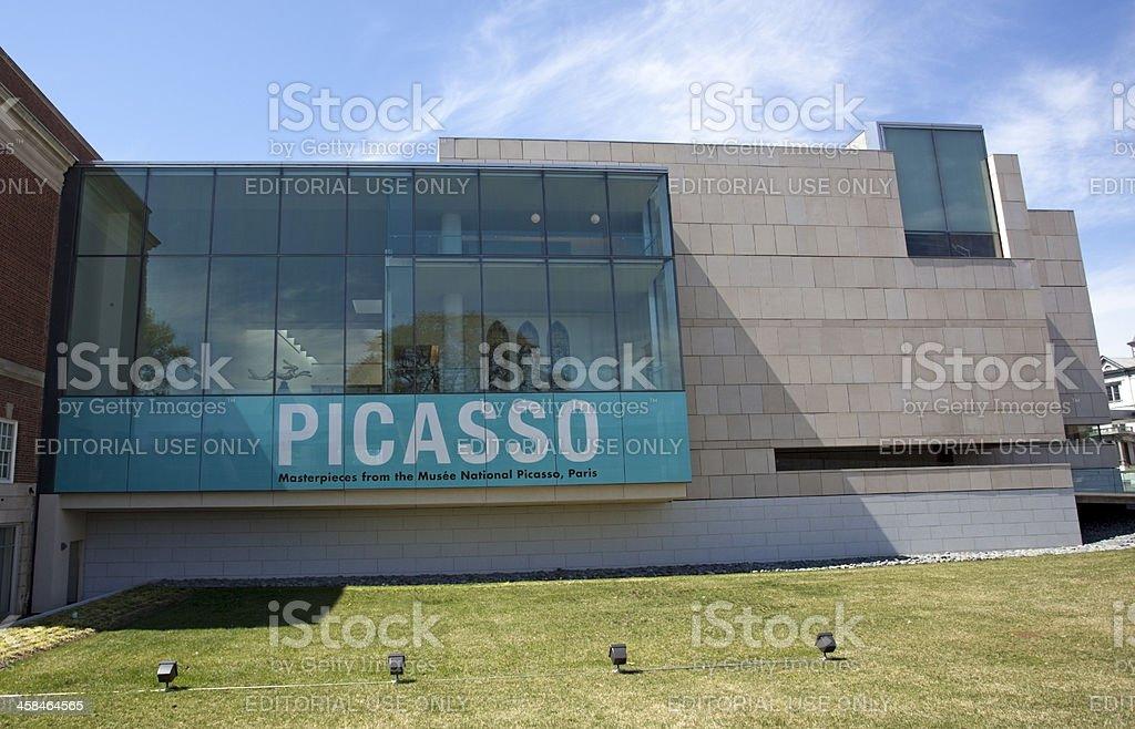 Picasso Exhibit stock photo