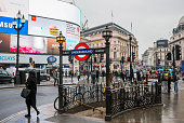 Piccadilly Circus entrance/exit to the underground