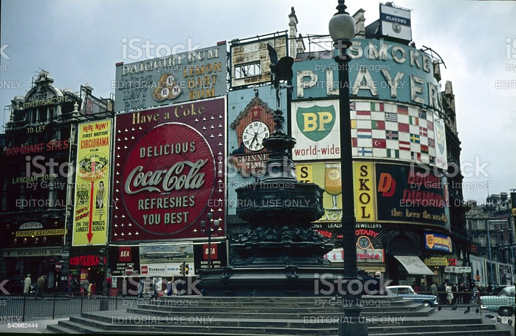 Piccadilly Circus, London, V stock photo