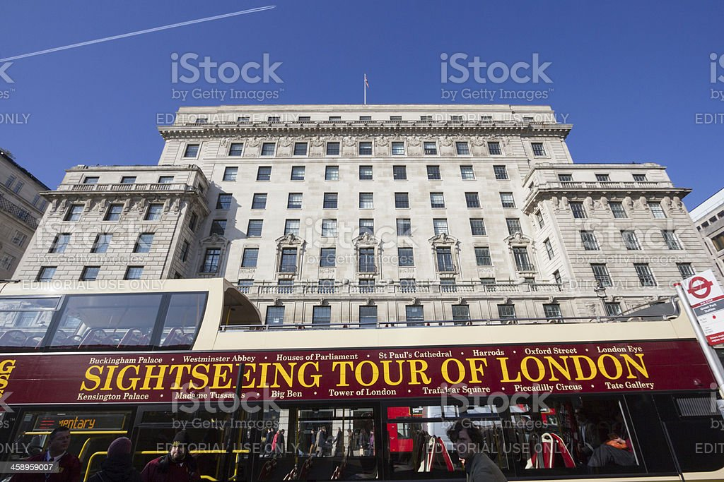 Piccadilly in London, England royalty-free stock photo