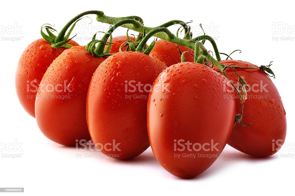 Piccadilly Tomatoes Close-Up stock photo