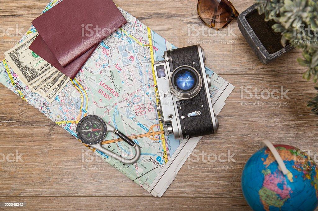 Pick a destination stock photo