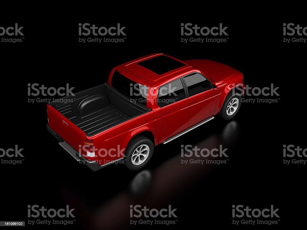 Pick Up Truck royalty-free stock photo