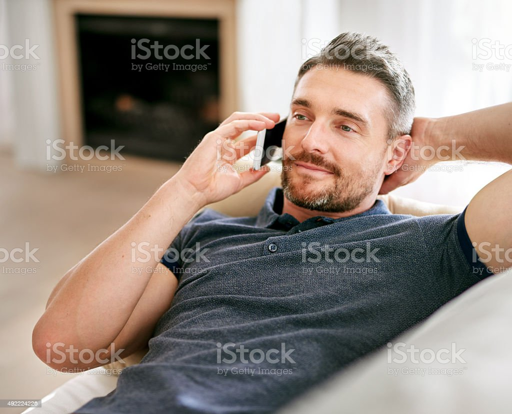 Pick you up at 7? stock photo