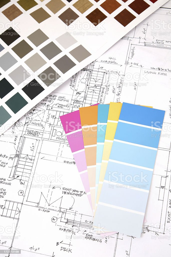 Pick Your Color royalty-free stock photo