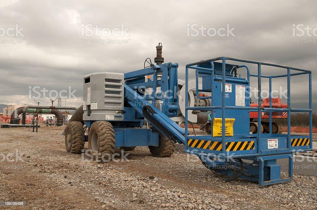 picker lift royalty-free stock photo