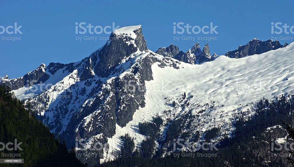 Picket Range Ice stock photo