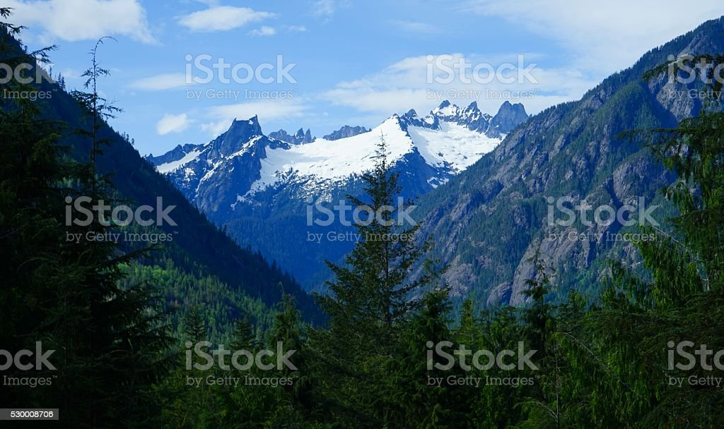 Picket Range stock photo
