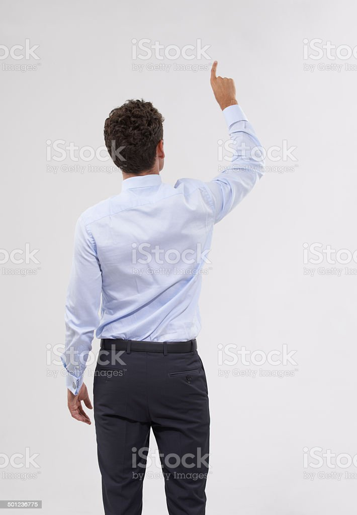 Picking the best option stock photo