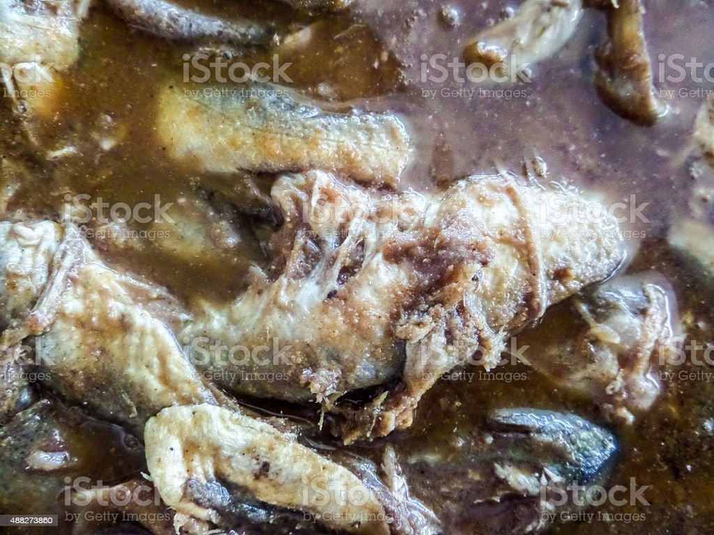 pickle fish stock photo