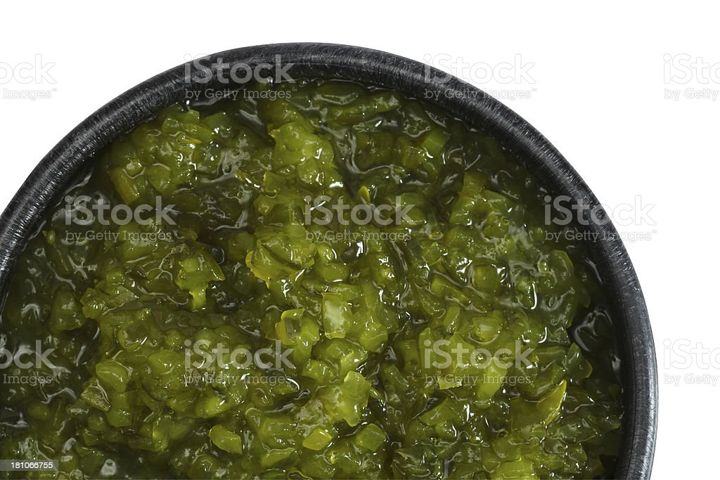 Pickle Relish stock photo
