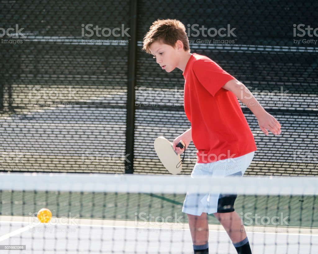 Pickleball Players stock photo