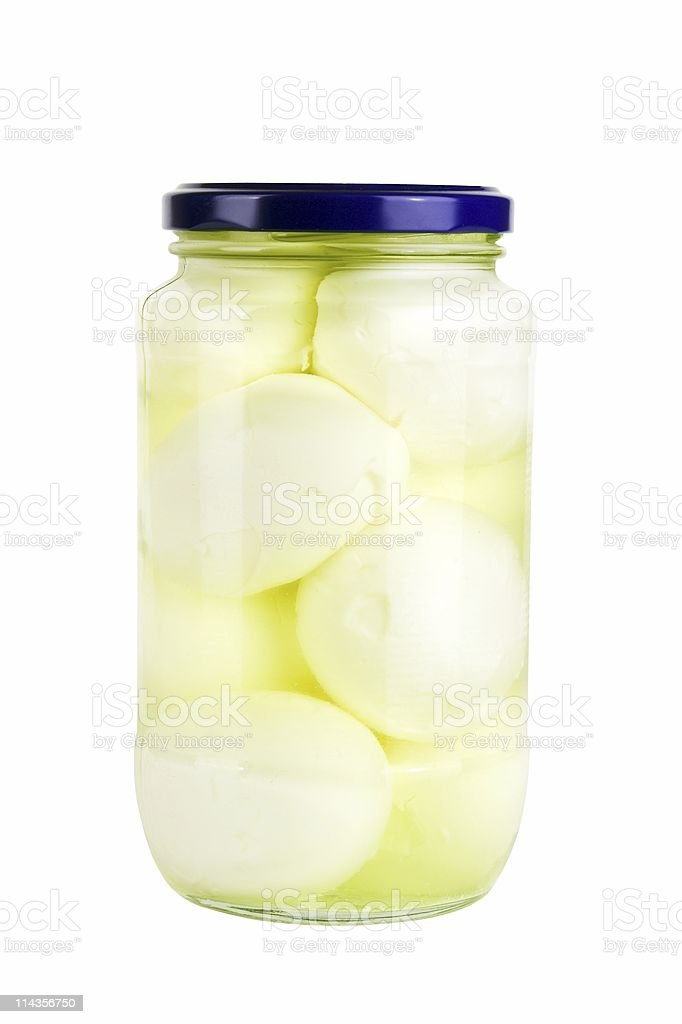 Pickled Eggs stock photo