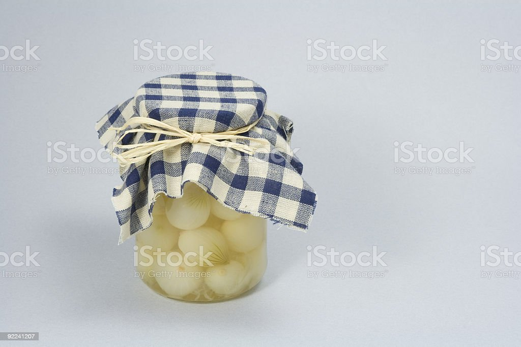 Pickled Onions royalty-free stock photo