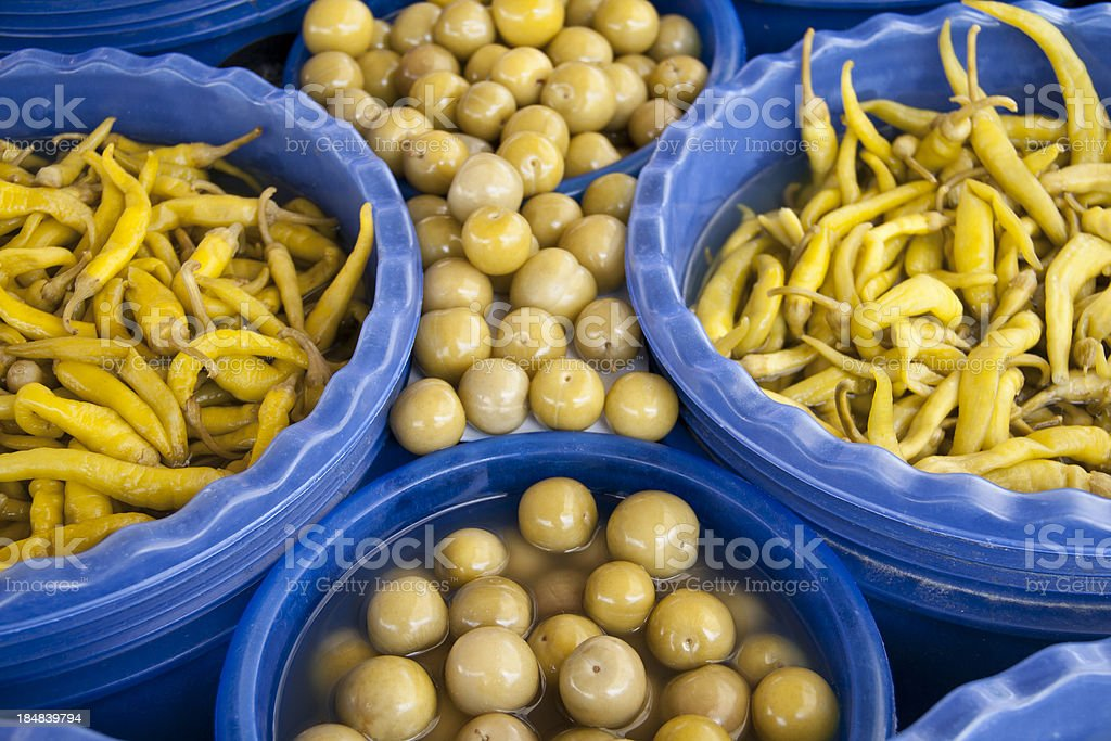 Pickled stock photo