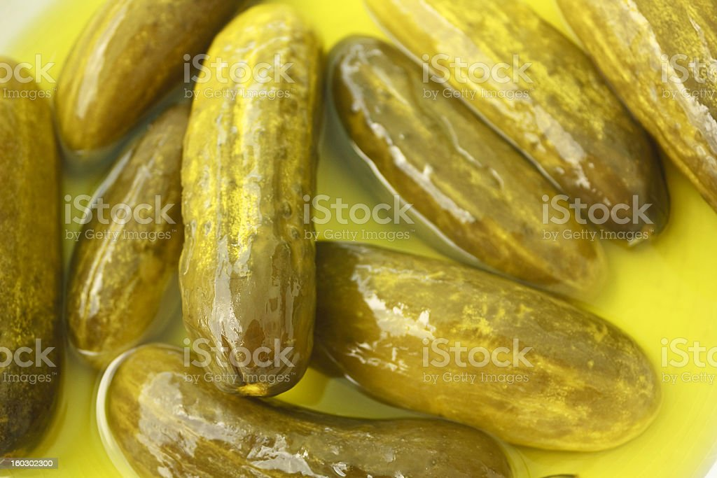 Pickles Close-up stock photo