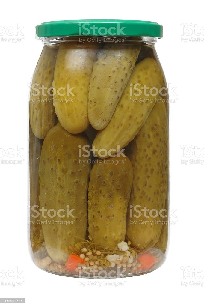 Pickles royalty-free stock photo