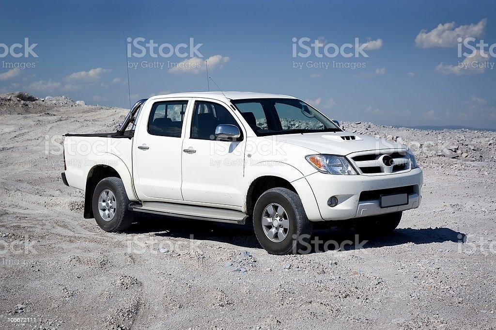 Pickup stock photo