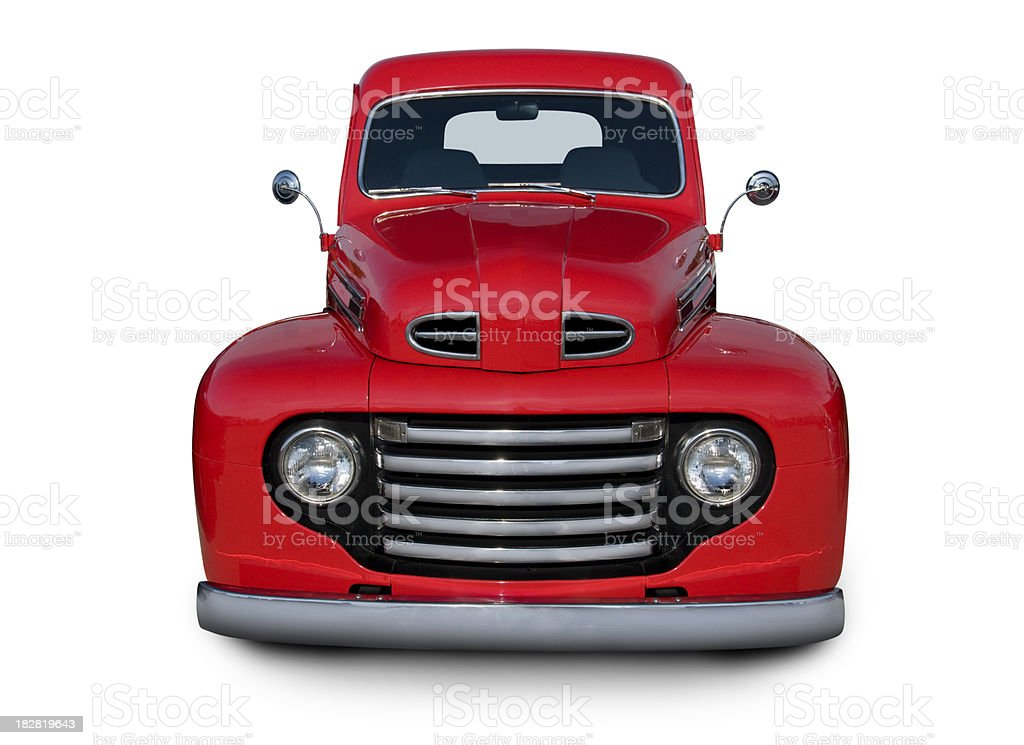 Pick-Up Truck from 1948 stock photo