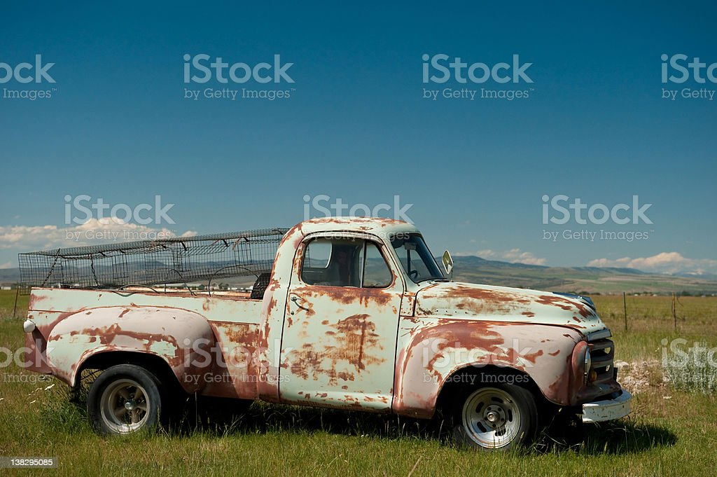 Pickup Truck royalty-free stock photo