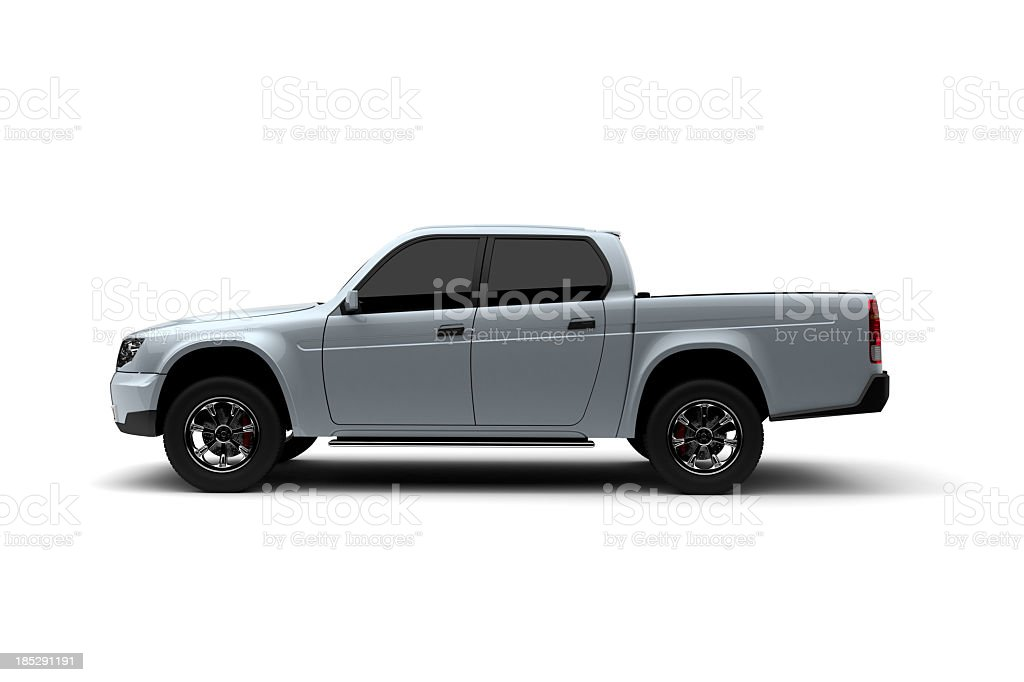 Pick-up Truck royalty-free stock photo