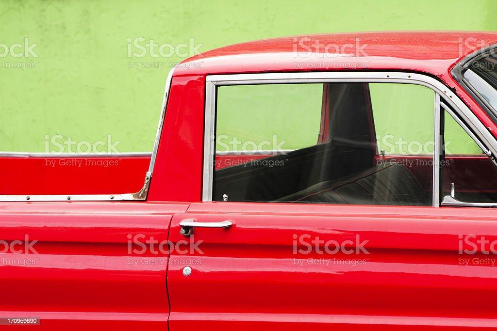 Pickup Truck Roadster Vintage Car royalty-free stock photo