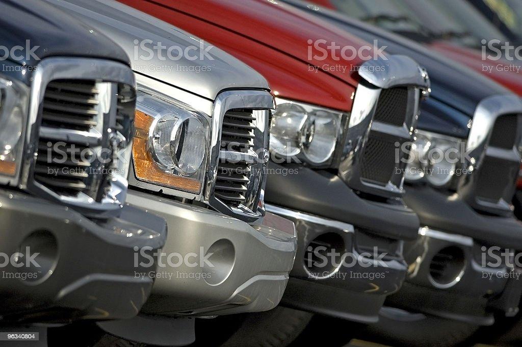 Pickup Trucks royalty-free stock photo