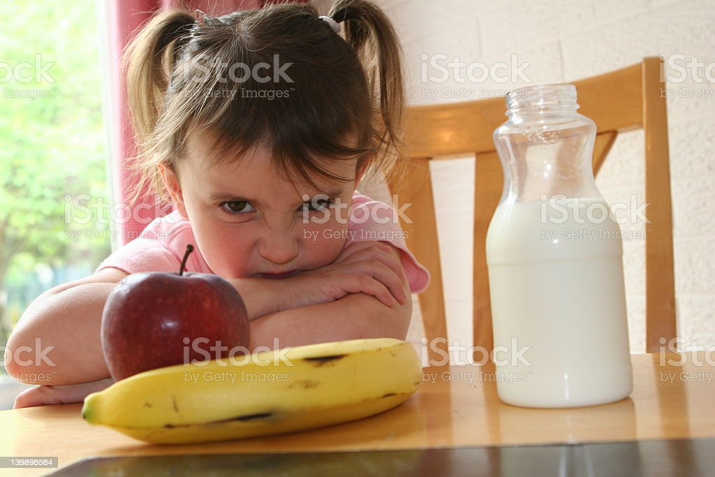 Picky Eater 2 royalty-free stock photo