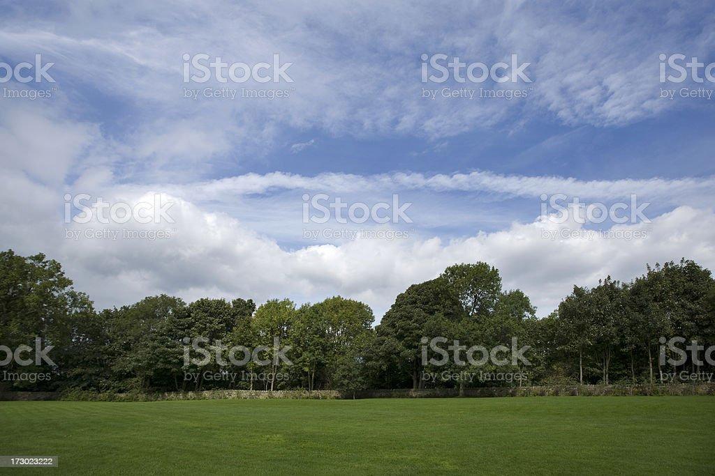 Picnic Area royalty-free stock photo