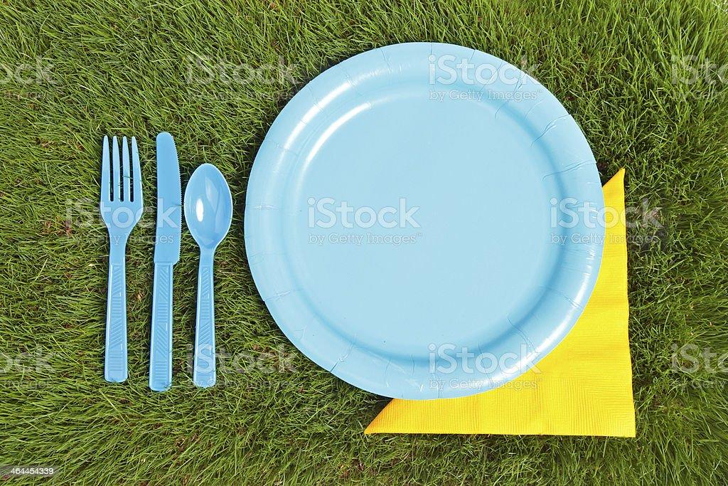 Picnic Arrangement royalty-free stock photo