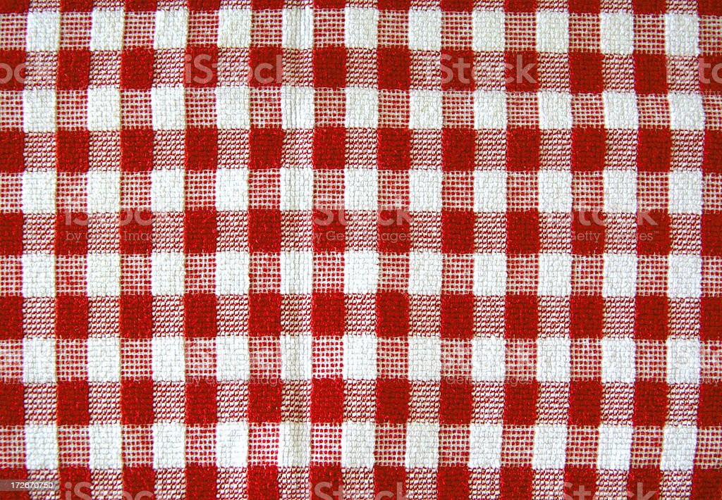 Picnic blanket. stock photo