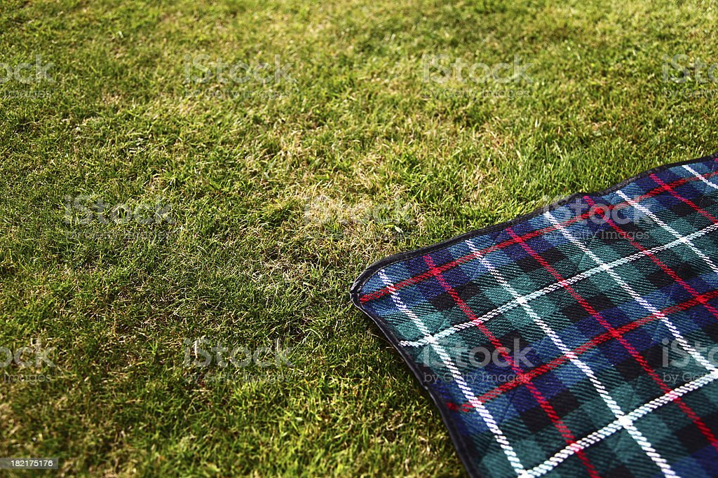 Picnic Blanket stock photo