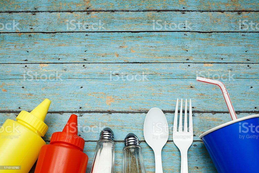 Picnic Essentials stock photo