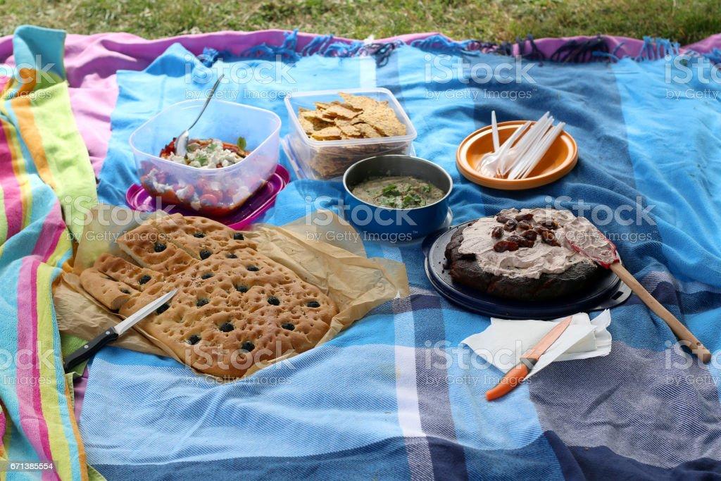 Picnic Food stock photo