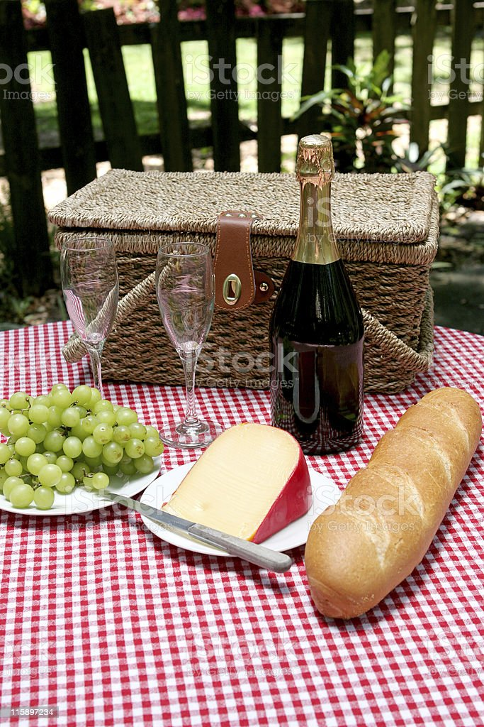 Picnic In The Country royalty-free stock photo