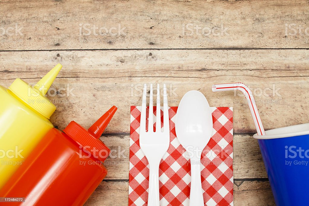 Picnic Necessities royalty-free stock photo