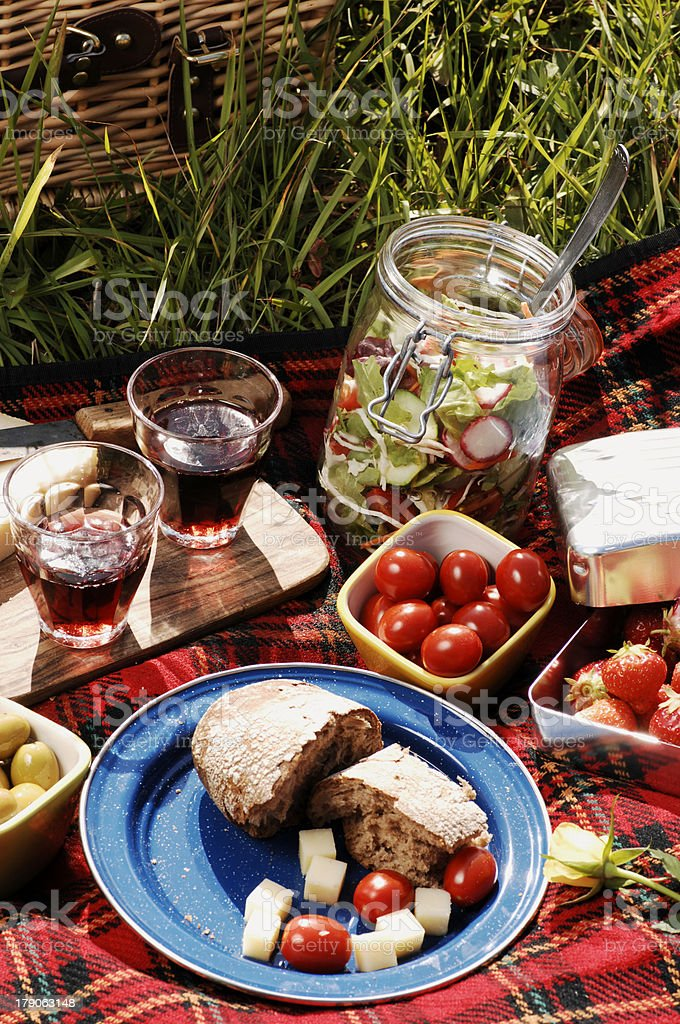 picnic serie royalty-free stock photo
