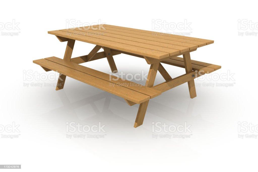 ピクニックテーブル ロイヤリティフリーストックフォト