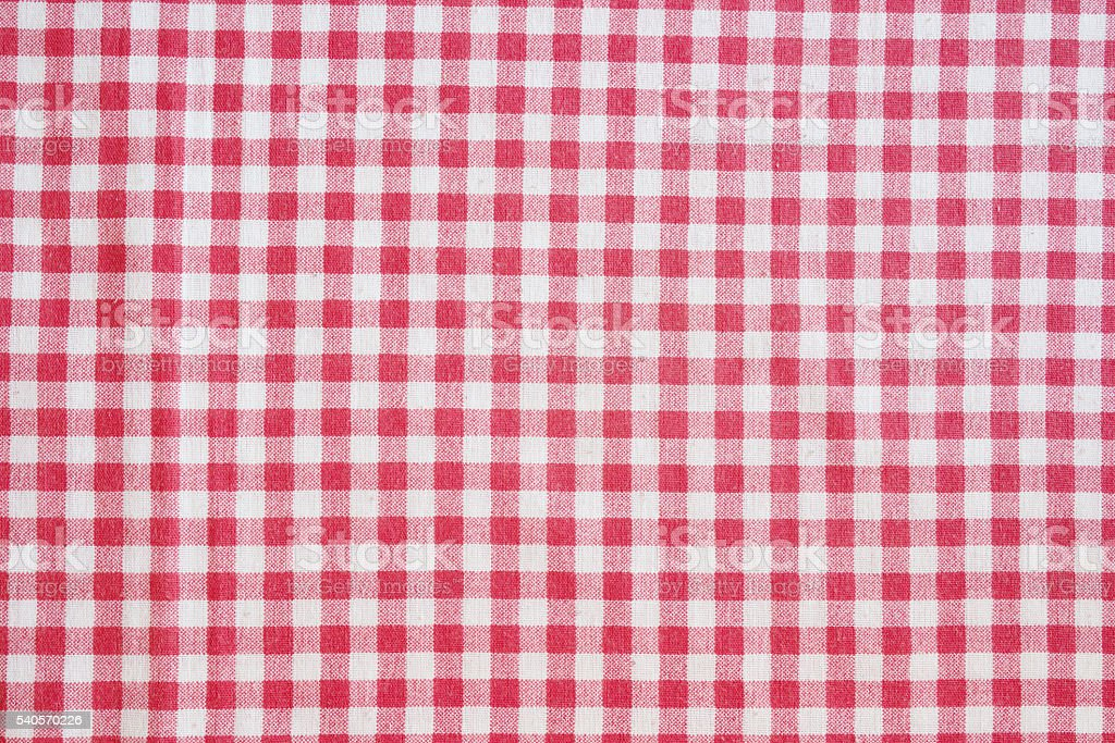 Picnic tablecloth background. stock photo