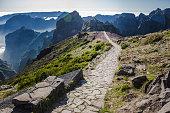 Pico de Arieiro, hiking trail