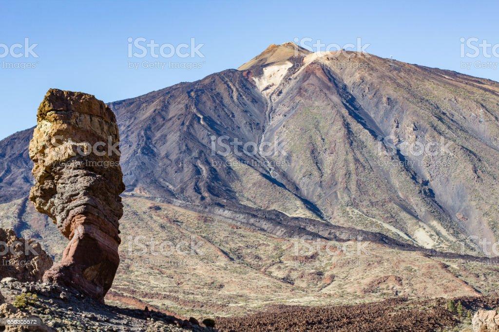 Pico del Teide, Tenerife stock photo