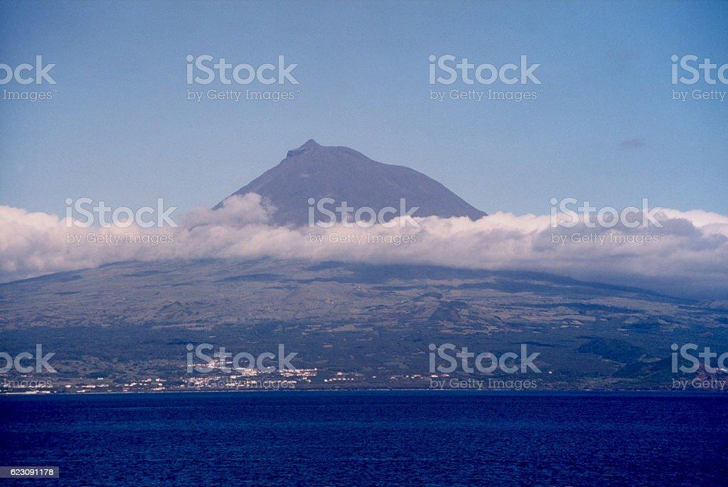 Pico Island stock photo
