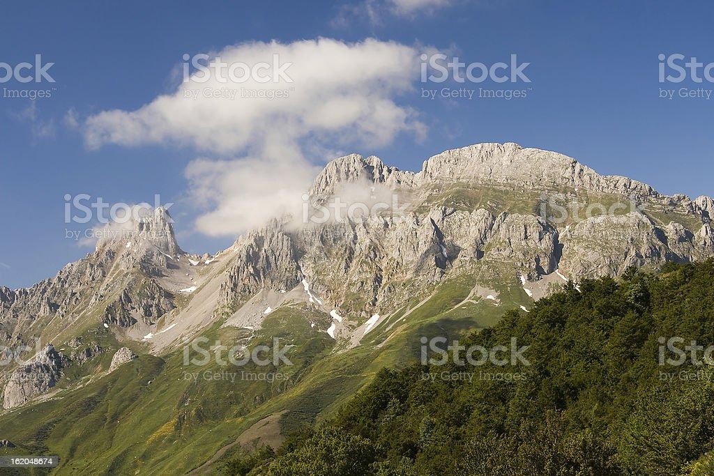 Picos de Europa national park, Leon stock photo