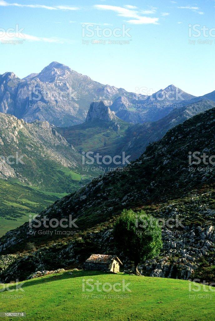 Picos de Europa royalty-free stock photo