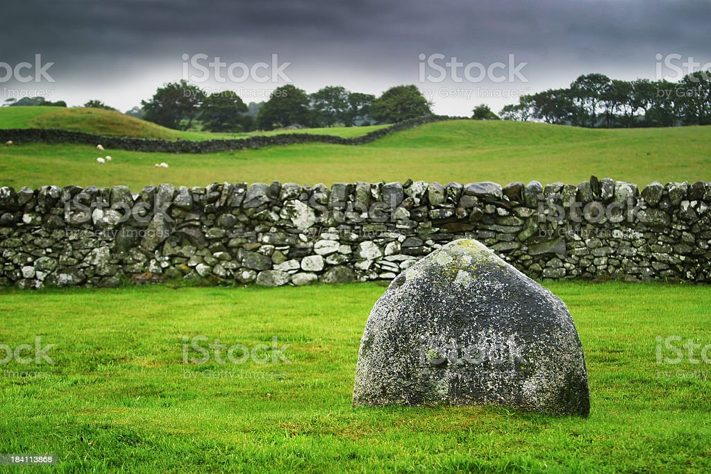 Pictish Stone royalty-free stock photo